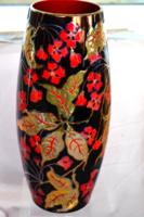 Zsolnay többtüzű színes eozin váza 33 cm