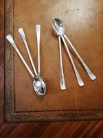 Ezüst koktél kanál készlet - 6 darabos