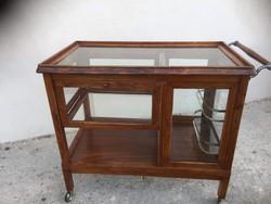 Különleges Art deco Zsúrkocsi, szerviz asztal