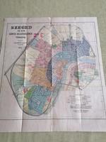1922-es Szeged térkép
