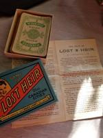 Elveszett örökös kanadai városok Copp Clark Games Lost Heir | Antique Card Game | Lost Heir Canadian
