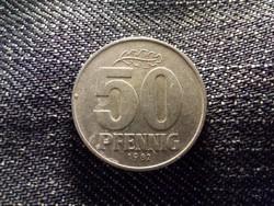 Németország NDK (1949-1990) 50 Pfennig 1982 A / id 12011/