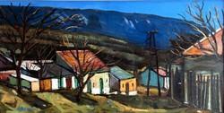 """Arató István (1922 - 2010 ) """" Kesztölci faluvége..... !!"""