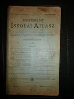 Kogutowicz Manó 1897  - Történelmi Iskolai Atlasz szép állapotban