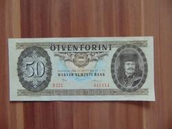 50 forint 1986 D 222 Szép ropogós bankjegy