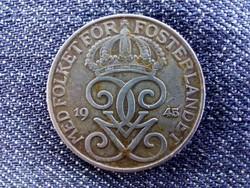 Svédország V. Gusztáv (1907-1950) 5 Öre 1945 / id 9296/