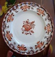 Antik Copeland nagy lapos tányér, kínáló