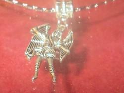 Szárnyas Őr Angyal Tibeti ezüst Nyaklánc 2. sz