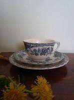 Bristol Crown Ducal fajansz teás szett
