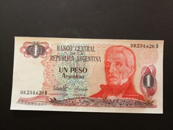 Argentína 1 Peso UNC 1983