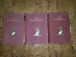 Blitz F.E  Az új természetes gyógymód 1-2-3 kötet régi Orvosi könyvek
