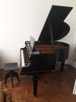 Hofmann zongora, angolmechanikás, páncéltőkés