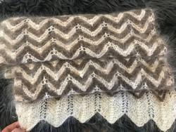 Pihepuha gyönyörű széles gyapjú sál
