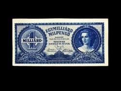 HAJTATLAN - EGYMILLIÁRD MILPENGŐ - 1946 - INFLÁCIÓS SOR
