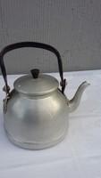 Alumínium teáskanna, retro. régi,  tea kanna