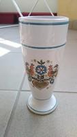 Meissner land elster keramia váza
