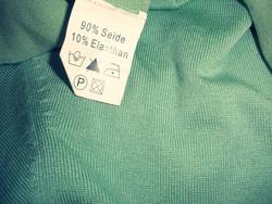 Zöld garbó 90% selyem