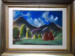 Jándi Dávid festménye