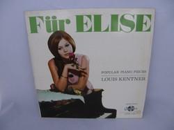 Für Elise bakelit lemez (LP)