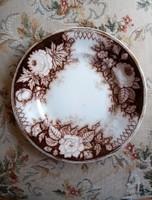 Jardiniere Amberg antik fajansz süteményes tányérok