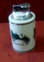 GAS márkájú porcelán asztali öngyújtó