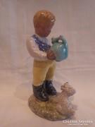 Izsépy kerámia figura , hibátlan 15 cm