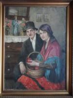 Nagy Vilmos: Fiatal pár