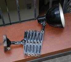 Bauhaus  -  Industial ollóskarú műhelylámpa  -  géplámpa  -  EKA