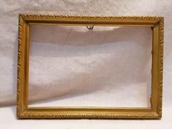 Arany - fa képkeret , falc 16x23,5 cm