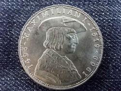 Ausztria, I. Maximilian halála 450. évfordulója ezüst (.900) 50 Schilling 1969 / id 9548/