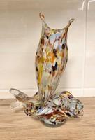 Muranoi üveg hamutál és váza