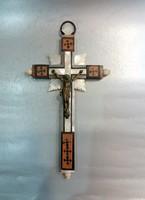 Antik Kereszt Korpusszal/Megfeszített Krisztus