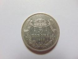 5 korona 1900 K.B.  01