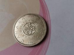 1964 Jubileumi Kanada ezüst 1 dollár 23,3 gramm 0,800