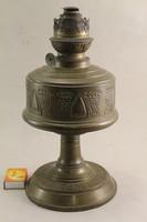 Antik szecessziós réz petróleum lámpatest G137