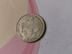 1839 ezüst V.Ferdinánd 20 krajcár,szép darab Ritkább