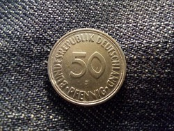 Németország NSZK (1949-1990) 50 Pfennig 1950 J / id 11998/
