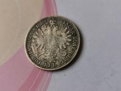 1889 ezüst 1 florin,Ritkább