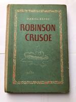 1955-ös német ROBINSON CRUSOE könyv