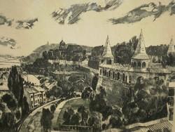 Csurgói Máté Lajos (1931-) : Budapesti látkép