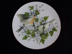 Royal Crafton madaras (erdei pinty) tányér 19.5 cm