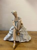 Porcelán balerina