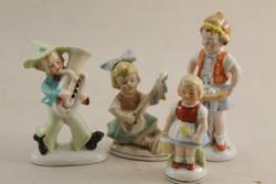 Német porcelán fiúk/ lányok G135