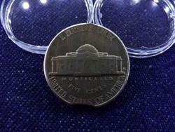 USA verdehibás, kicsípett 5 Cent 1954 / id 4267/