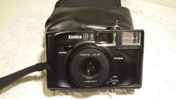 Konica EFP20 fényképezőgép, fényképező, régi