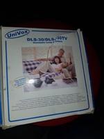 Hallássérülteknek készült, hurokerősítő, hogy ne bömböljön a tévé...Univox 30