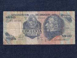 Uruguay 50 Új pezó bankjegy 1981 / id 12928/