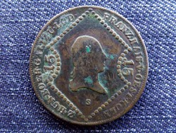 I. Ferenc 15 Krajcár 1807 S (Szomolnok) / id 4380/