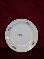 Zsolnay porcelán süteményes tányér, 19 cm átmérővel.