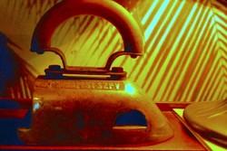 Antik különleges formájú,gáz   vasaló az 1900-as évek eleje